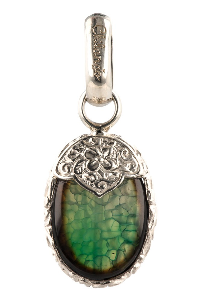 Chilango MAGIC GREEN Silber Anhnger Designerschmuck online kaufen