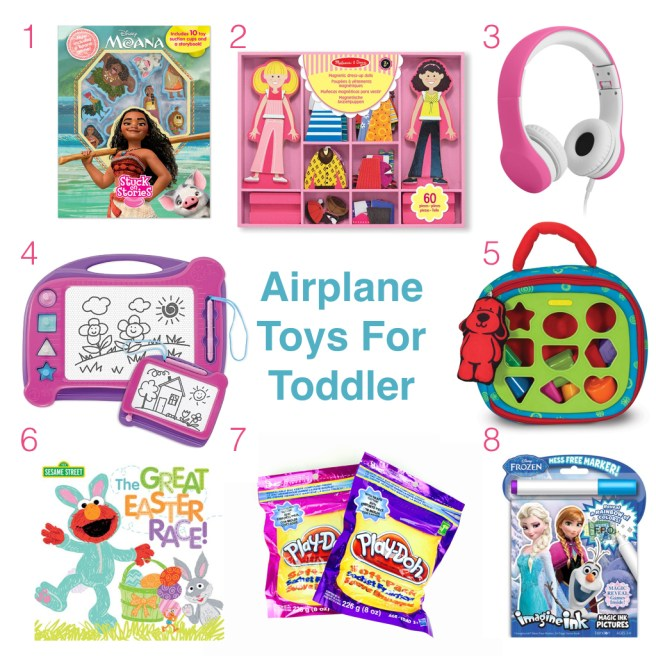 Airplane Travel Toys For Toddlers