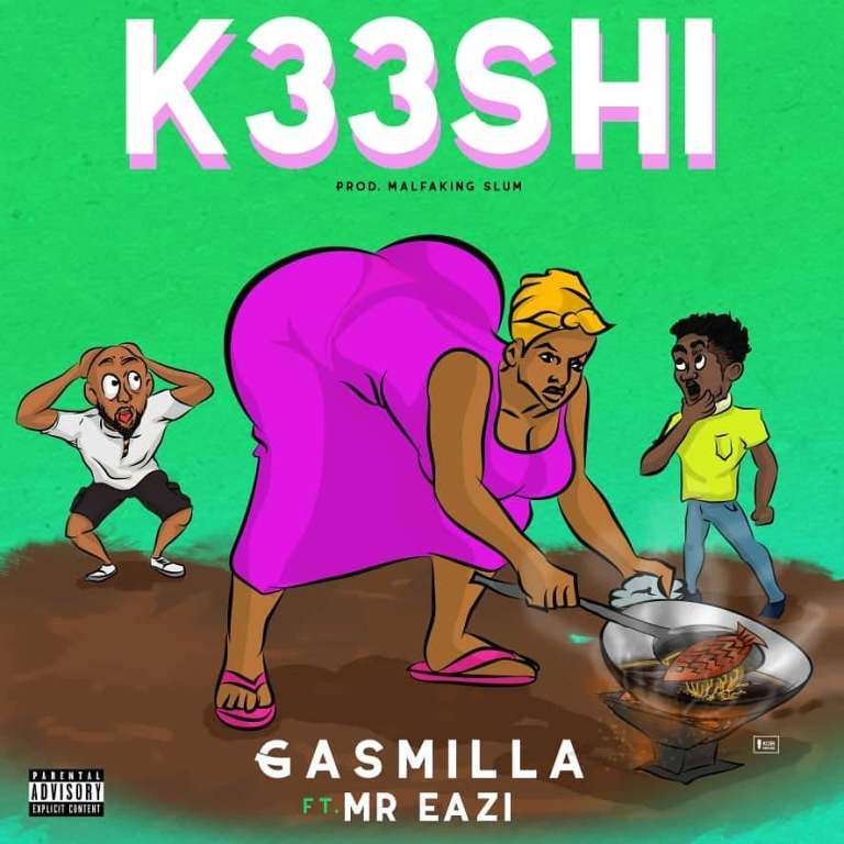 Gasmilla feat. Mr Eazi – K33shi (Prod By Malfaking Slum)
