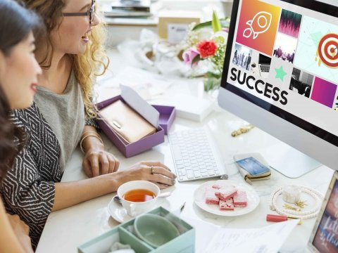 negócio online de sucessos