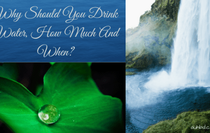 Why Should You Drink Water, How Much And When?