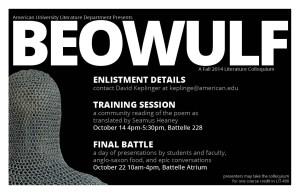 Literature Colloquium Beowulf