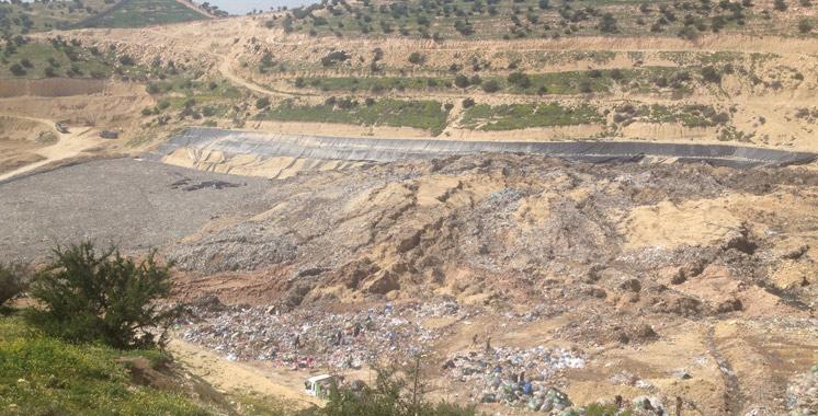 Agadir : Débordement d'un bassin de stockage de lixiviats