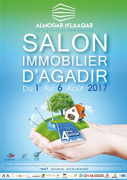 Le Salon de limmobilier dAgadir souffle sa quatrime bougie  Le Blog dAgadir par Michel