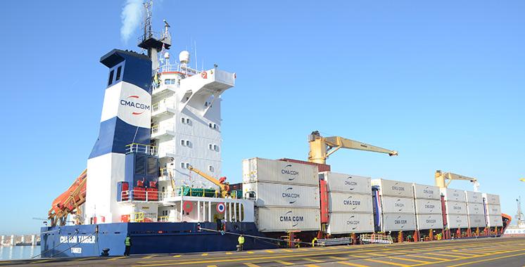 Agadir :  Entrée en service du CMA CGM Tanger