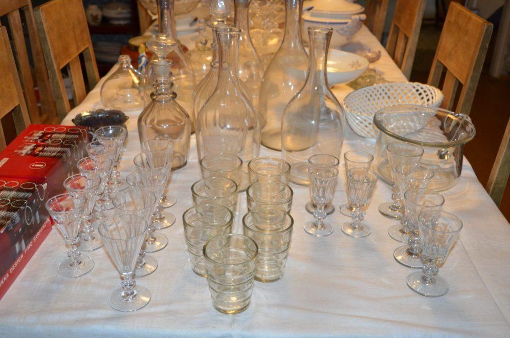 Vanhaa lasia, Notsjö, ym.