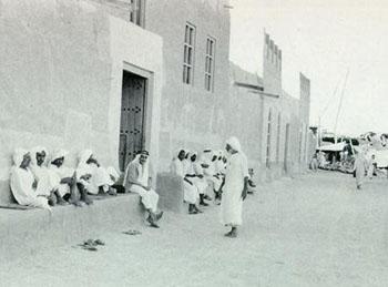 old kuwait neighborhood street