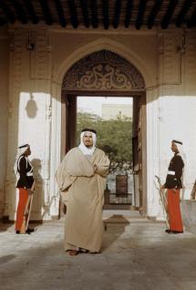sheikh jaber old building door entrance