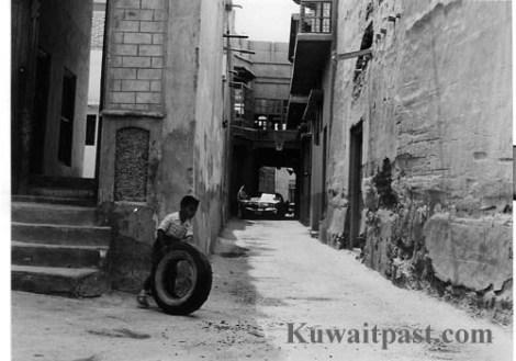 old kuwait street neighborhood