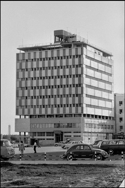 old modern kuwait building