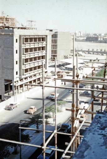 Old modern Kuwait Neighborhood