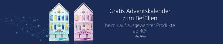 Adventskalender gratis bei Amazon