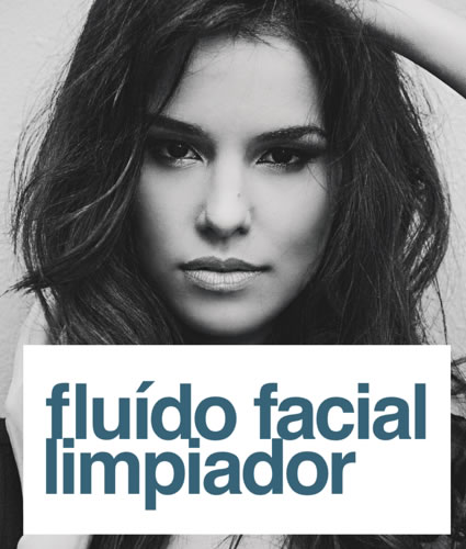 Fluido facial limpiador