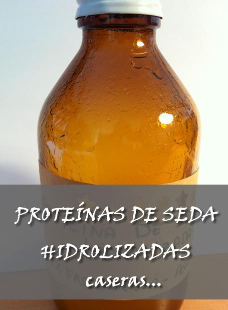 Proteínas de seda hidrolizadas a partir de seda natural