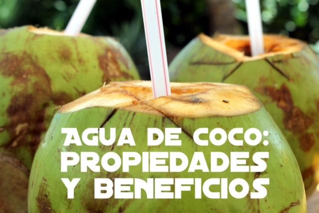 Propiedades y beneficios del agua de coco