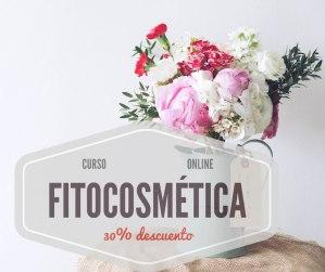 30% descuento curso online Fitocosmética