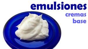 curso online emulsiones - cremas base