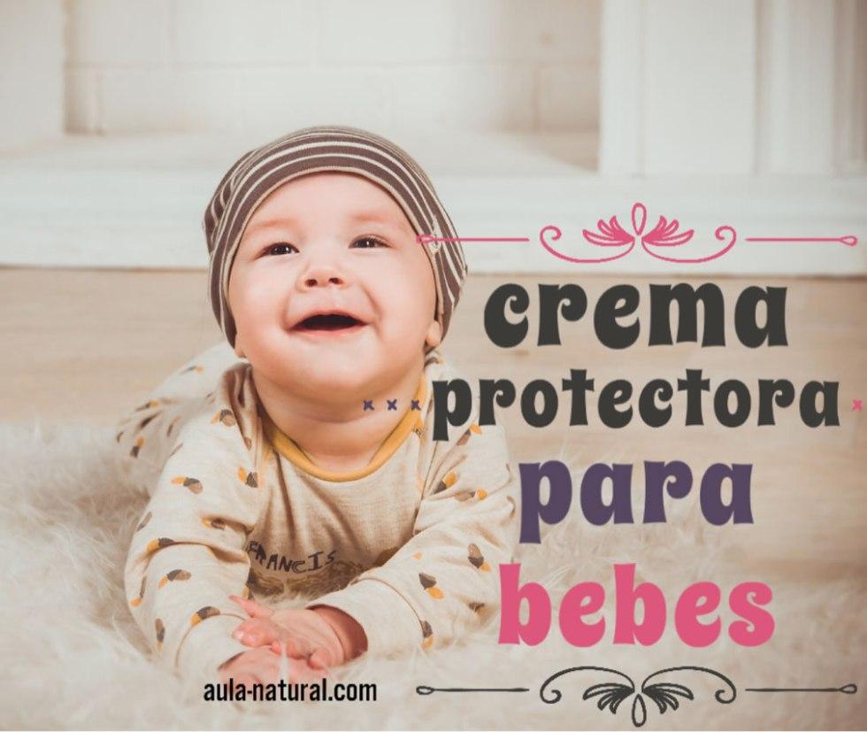 Crema protectora para bebes