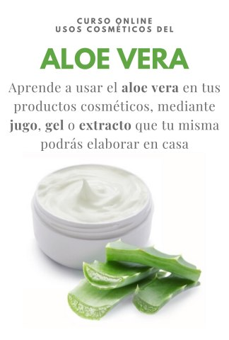 Curso online Aloe Vera