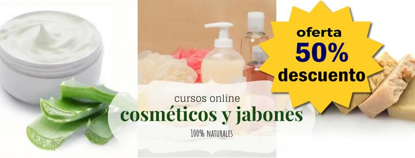 Cursos online Cosmética natura, Jabones, Fitocosmética, Aromaterapia...