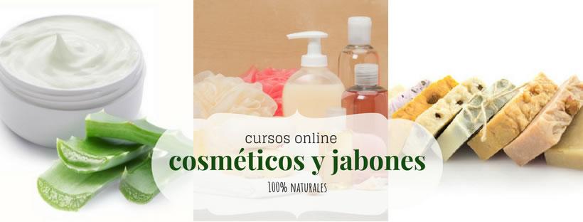 Cursos online sobre cosmética natural. jabones, aromaterapia y fitocosmética