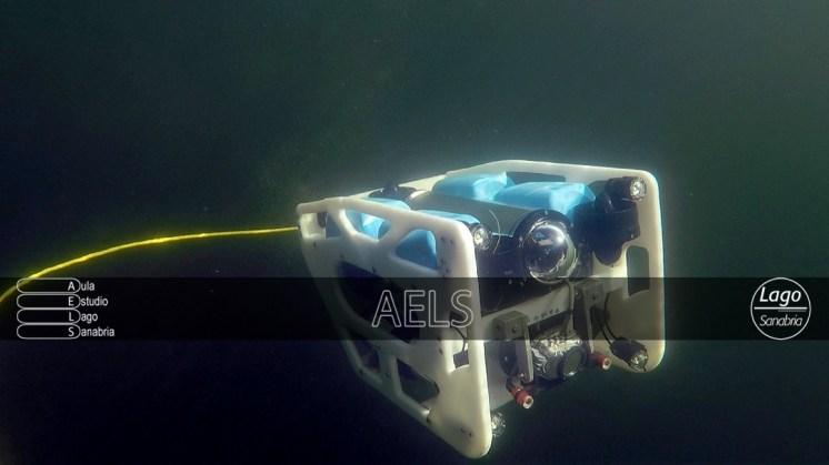 La gran operatividad del ROV a grandes profundidades.
