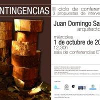 """Las """"contingencias"""" en la arquitectura de Juan Domingo Santos"""