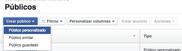 Público personalizado