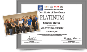2018 GM Platinum Award