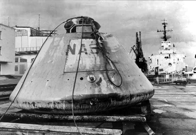 Apollo module quayside