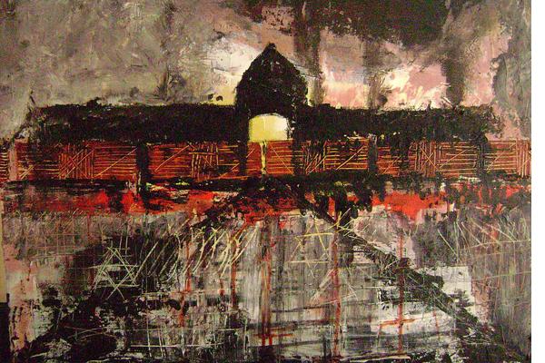 Lo que hizo posible Auschwitz aquí regresa. Poema de Julia Otxoa
