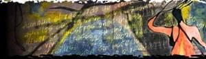 Imagen de portada de la hipernovela Gabriella Infinita en el portal digital javeriana.edu.co.