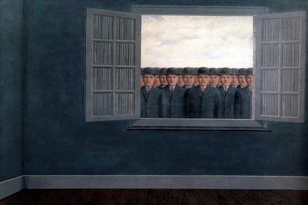 Le mois des vendanges de René Magritte. Centenario de César Dávila Andrade.