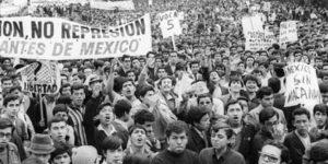 Marcha de movimiento estudiantil