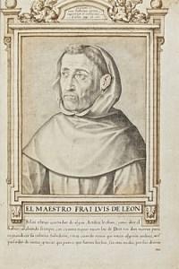 Fray Luis de León, 1598 Francisco Pacheco Del teocentrismo natural a la decadencia barroca