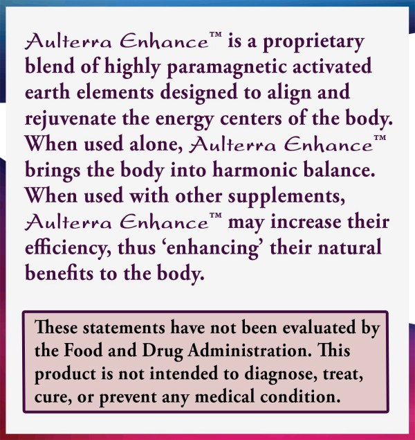 Aulterra Enhance product information