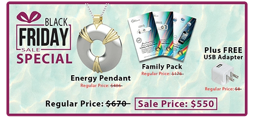 Black Friday Special with pendant and family pack