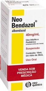 Albendazol suspensao oral