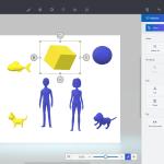 โปรแกรมใหม่ Paint 3D ในวินโด 10 (อัพเดท)