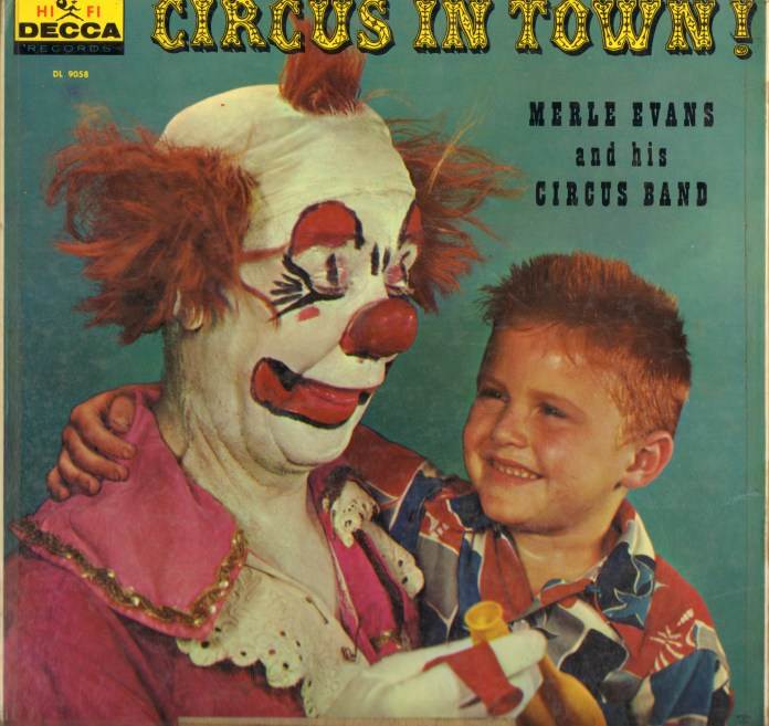 Circus in Town - Back Cover