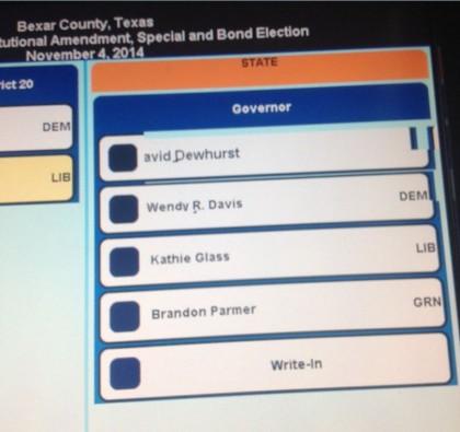 NEWS ALERT:  Reports Circulate that Greg Abbott's Name Left Off Ballot in Bexar County, Texas