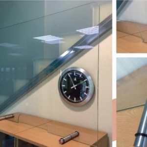 Mampara de separación de mesa en vidrio templado (70 x 120 cm)