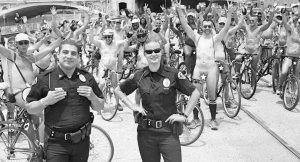 world naked bike ride la 2017