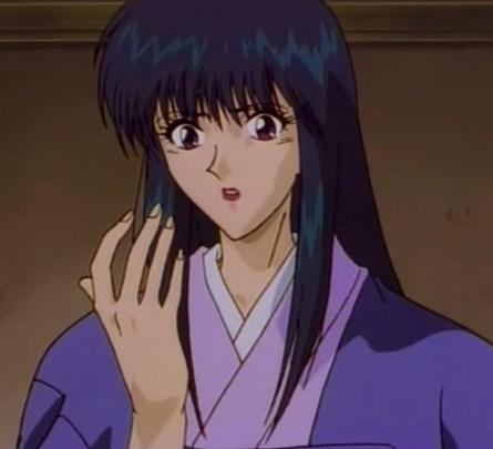 Megumi, damsel in distress