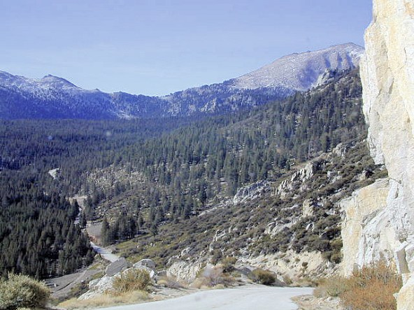 Over the ridge and On to Horseshoe meadows and Cottonwood Camp. (From Totalescape.com)
