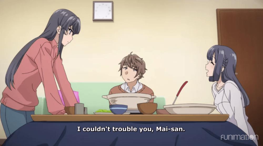 Shoko and Mai-san