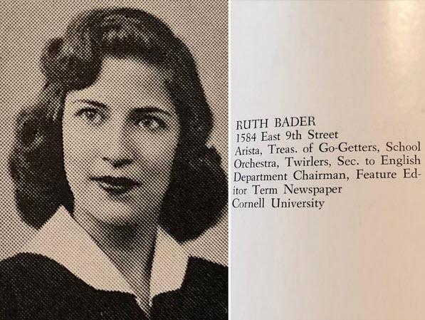 Ruth Bader Gisburg