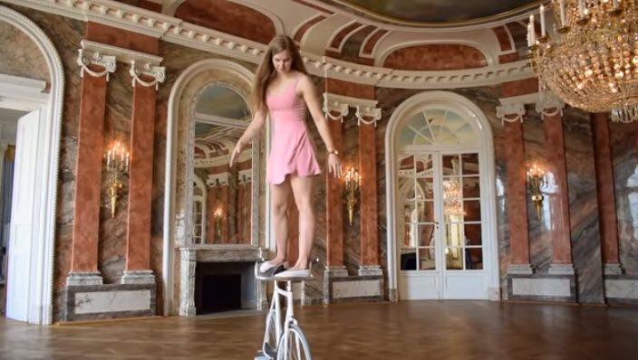 Bicycle ballet