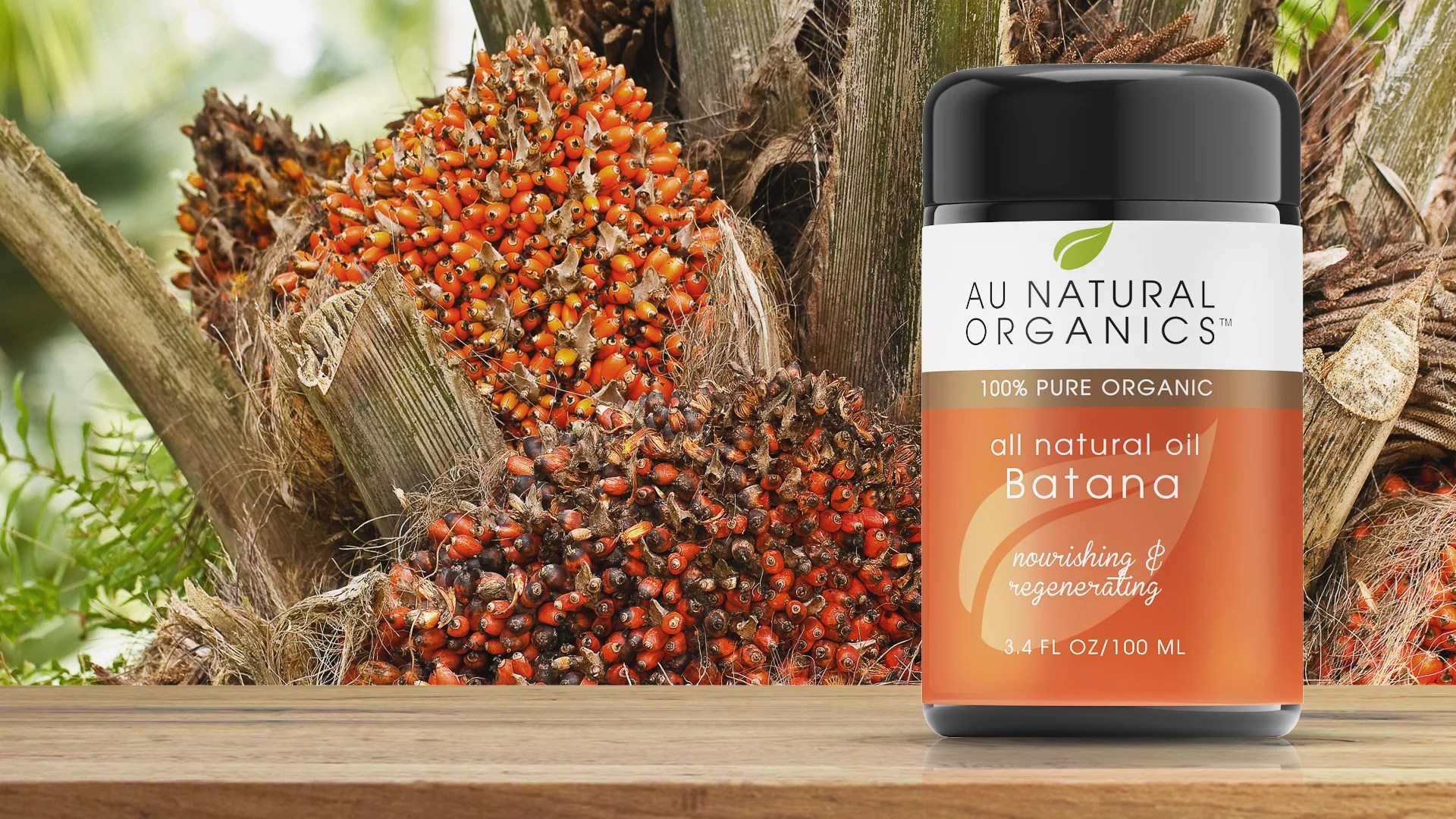 100 Percent Pure Batana Oil - 3.4oz (100ml) - AU Natural ...