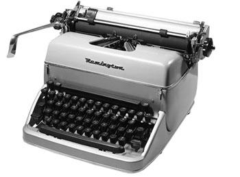 Resultado de imagem para máquinas de escrever